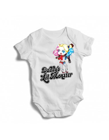 Daddy's Lil Monster, baby bodysuit