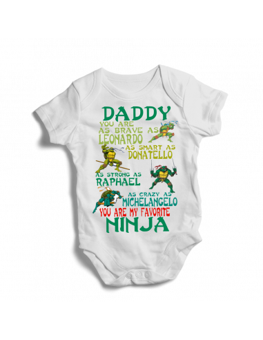 Teenage Ninja mutant turtles, baby bodysuit