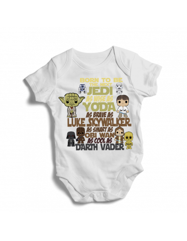 Born to be Star Wars  personage, baby bodysuit
