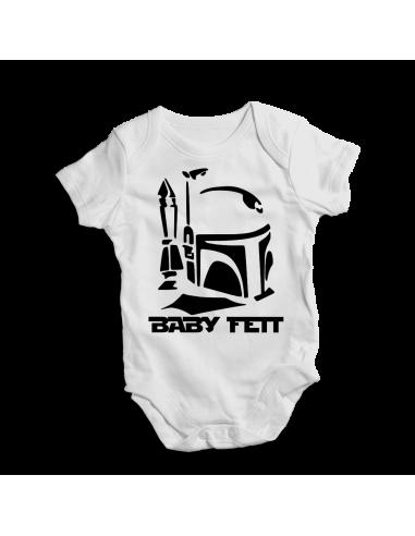 Baby Fett Star Wars, baby bodysuit