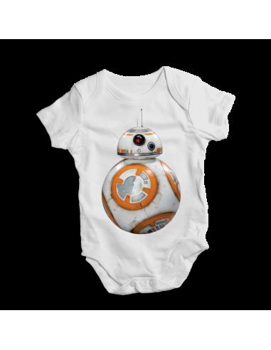 BB-8 Star Wars, baby bodysuit