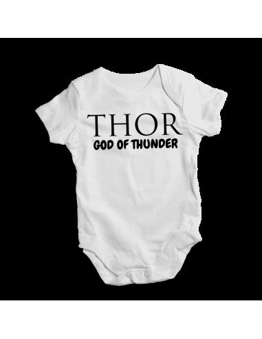 THOR god of thunder, baby bodysuit