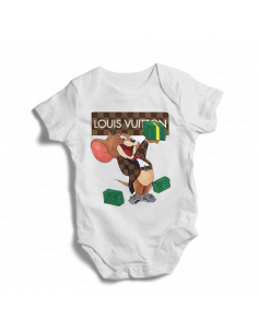 Louis Vuitton Tom Jerry baby bodysuit