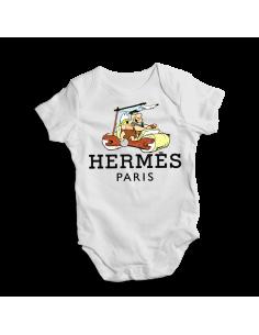 Flintstones hermes paris, baby bodysuit