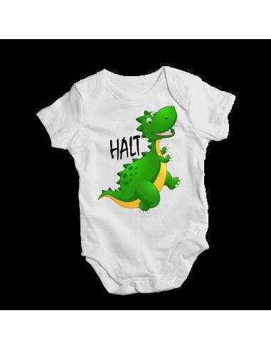 Halt Dinosaur, I AM REPTAR! Baby bodysuit