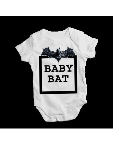 Baby Bat, Batman hero, baby bodysuit