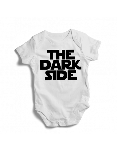 THE DARK SIDE, baby bodysuit