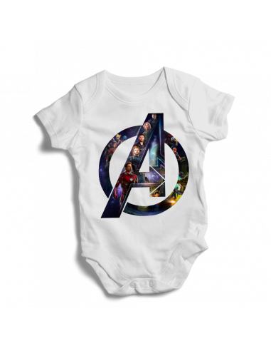 Avenger Logo, tv film baby bodysuit