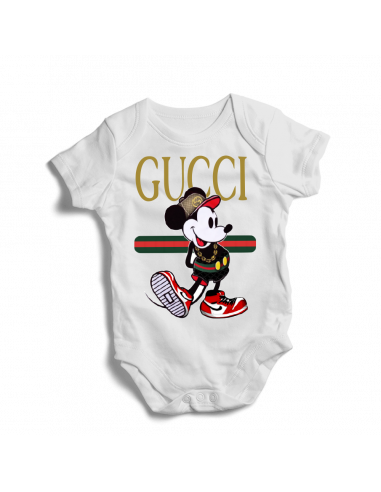 Gucci Mickey mouse, baby bodysuit