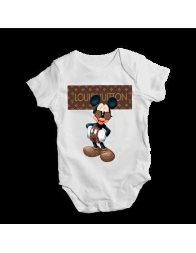 Louis Vuitton Mickey, baby bodysuit