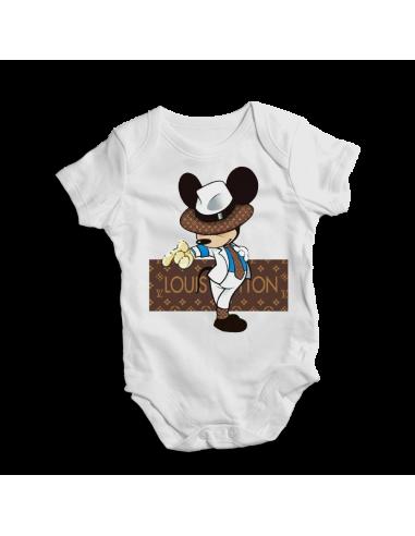 Louis Vuitton mister Mickey, baby bodysuit