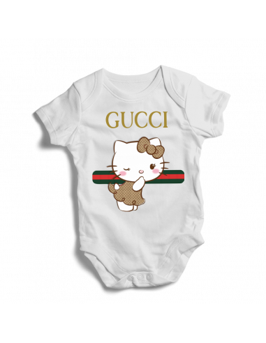 Gucci Hello Kitty, baby bodysuit