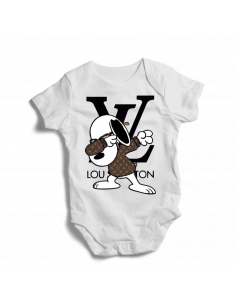 Mickey Disney Louis Vuitton, baby bodysuit