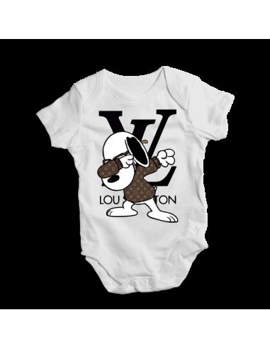Mickey Disney Louis Vuitton, baby bodysuit
