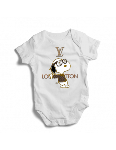 Louis Vuitton Snoopy, baby bodysuit