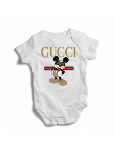 Gucci Mickey Mouse Disney baby bodysuit