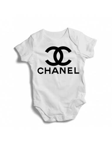 Chanel cool can be personalised baby bodysuit