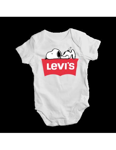Levi's  Snoopy, baby bodysuit