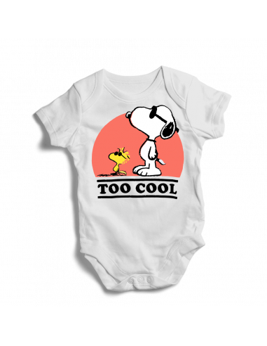 Snoopy to cool, baby bodysuit