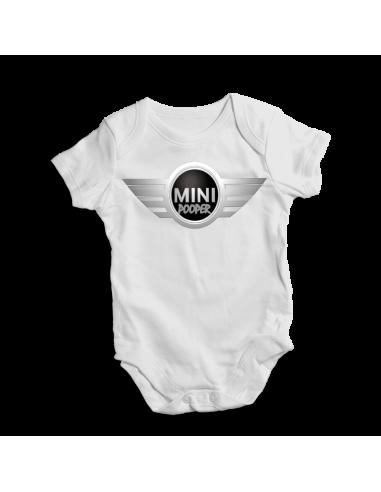 Mini pooper, baby bodysuit