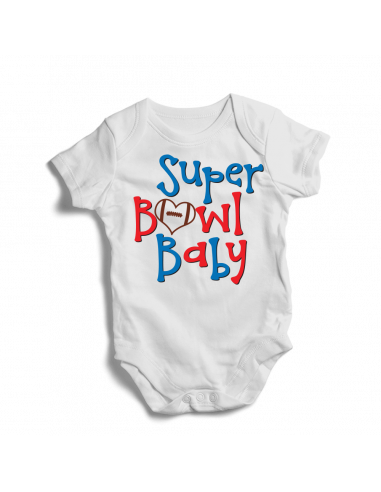 Super bowl baby, bodysuit