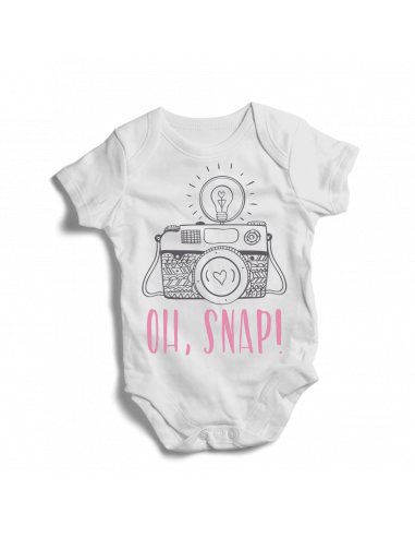 Oh, snap! Baby fotographer bodysuit
