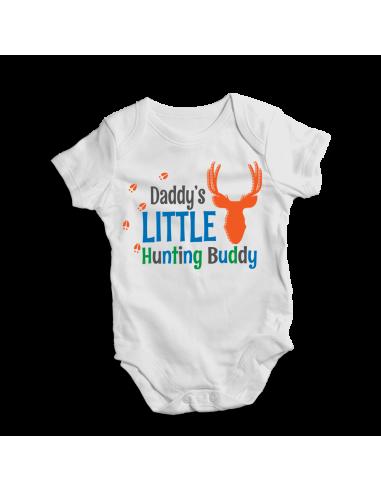 Daddy's Little Hunting buddy, baby boy bodysuit