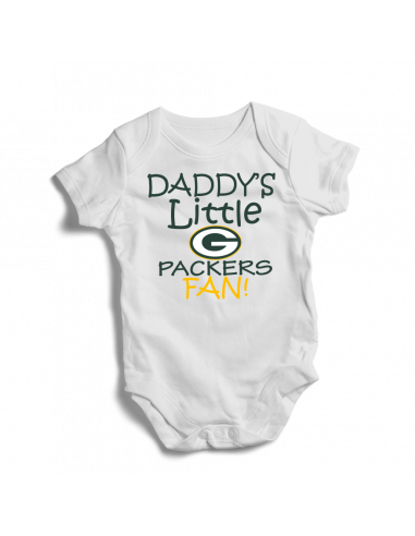 Daddy's little Packers fan! Baby football fan onesie