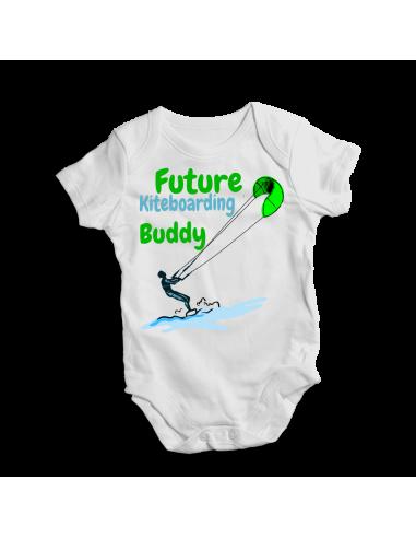 Future kiteboarding buddy, baby bodysuit