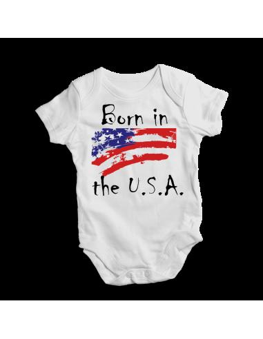 Born in the U.S.A. Baby bodysuit